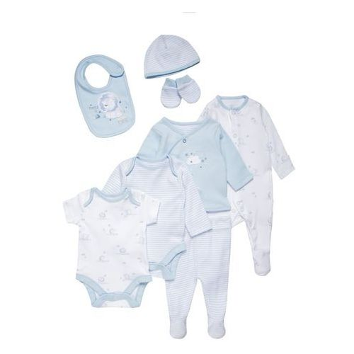 mothercare MY FIRST LITTLE LION SET Body pale blue, kolor niebieski