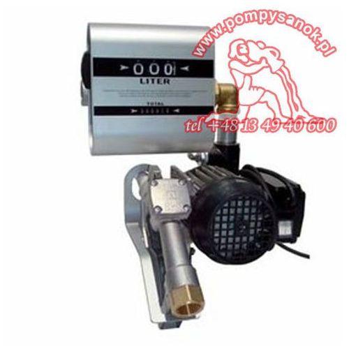 Pompa łopatkowa do oleju napedowego drum tech z miernikiem marki Adam pumps