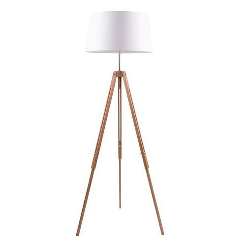 Lampa podłogowa SPOT Light TRIPOD dąb biały abażur, 6021070