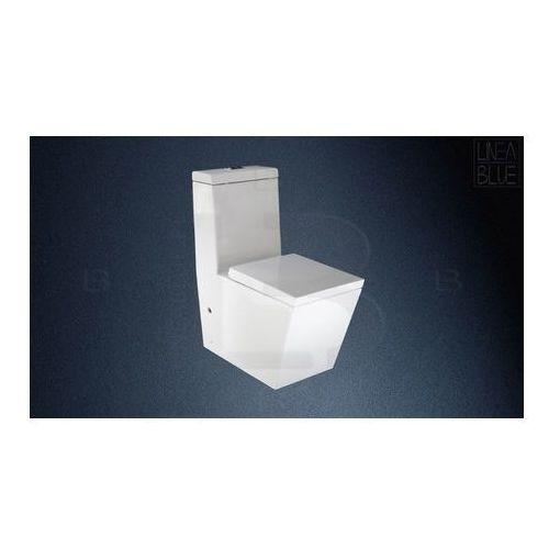 Ceramiczny kompakt wc stella marki Lineablue
