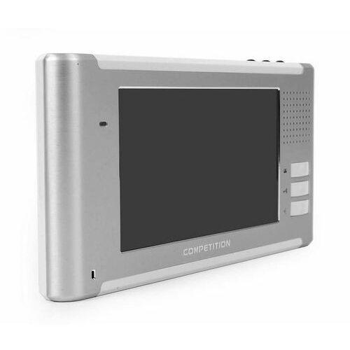 "Vidos Monitor 7"" M337 srebrno-alu M337 - Autoryzowany partner Vidos, Automatyczne rabaty., M337"