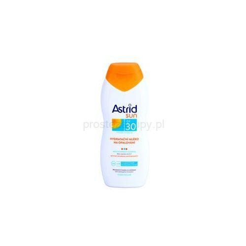 sun nawilżające mleczko do opalania spf 30 + do każdego zamówienia upominek. wyprodukowany przez Astrid