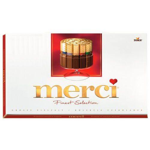Bombonierka merci finest selection kolekcja czekoladek 400 g marki Storck