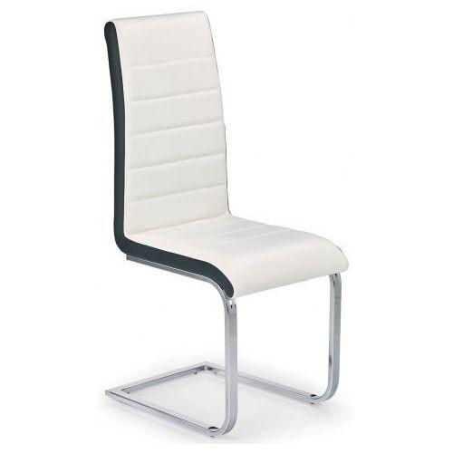 Krzesło metalowe damer - białe marki Profeos.eu
