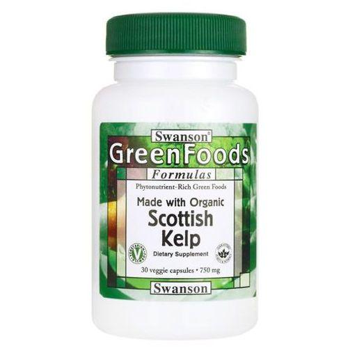 Swanson Scottish Kelp 750 mg 30 kapsułek