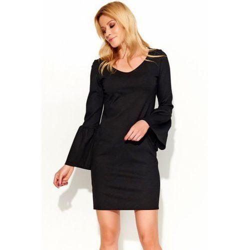 Sukienka model m366 black, Makadamia