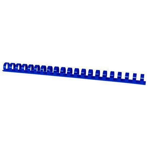 Grzbiety do bindowania OFFICE PRODUCTS, A4, 16mm (145 kartek), 100 szt., niebieskie