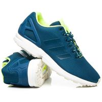 zx flux men niebieski, Adidas