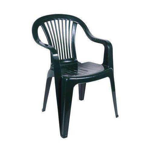 Krzesło ogrodowe beryl plastikowe zielone marki Ołer garden