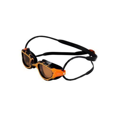 Zoggs PREDATOR POLARIZED Okulary pływackie orange/black