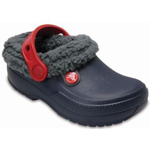 Crocs sandały classic blitzen iii clog navy state/slate grey, 32-33 (j1)