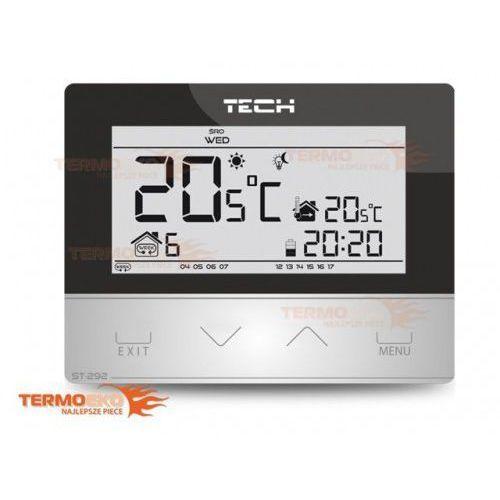 Sterownik regulator pokojowy dwustanowy st 292 v3 szklany panel przedni 3 mm!!! podświetlenie! marki Tech