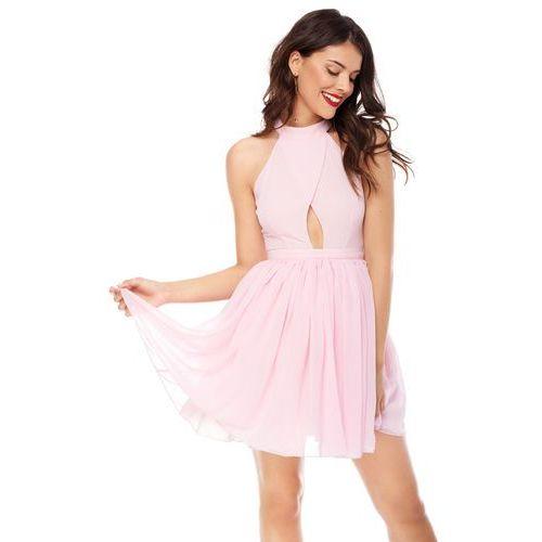 Sukienka Plumeria w kolorze różowym, kolor różowy