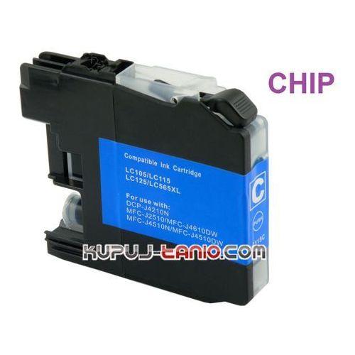tusz LC125C do Brother z chipem, Brother MFC-J4510DW, MFC-J4410DW, DCP-J4110DW, MFC-J4710DW (6959080033580)