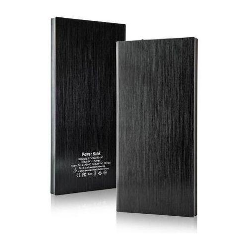 Powerbank  power bank e5 20000mah, slim czarny, z funkcją latarki - re02283black darmowy odbiór w 19 miastach! marki E5
