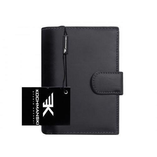 Skórzany portfel męski Kochmanski RFID stop 1238 (9999001040003)