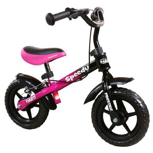 Rowerek biegowy  speedy m /różowo - czarny/ marki Arti