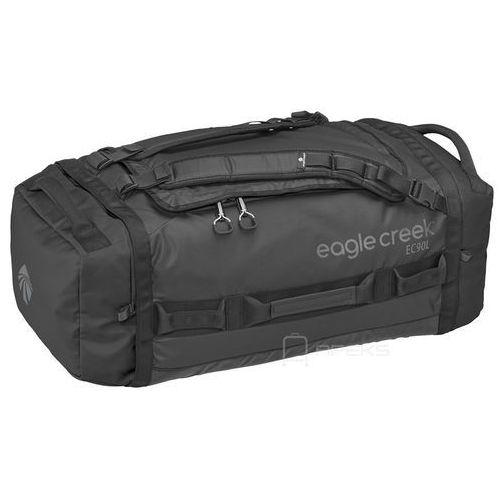 Eagle creek cargo hauler duffel 90l torba podróżna składana 73 cm / plecak / black - black