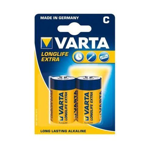 Bateria longlife extra lr14 llx 4 c (2szt blister) marki Varta