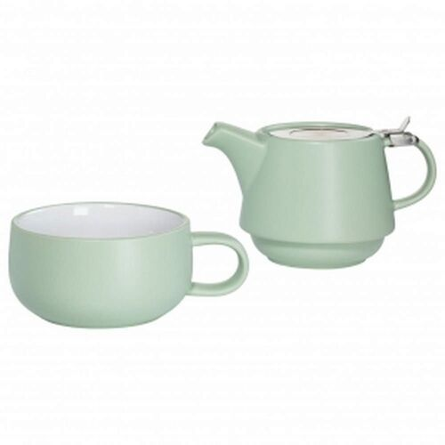 Maxwell & williams - tint - zestaw tea for one, zielony - zielony