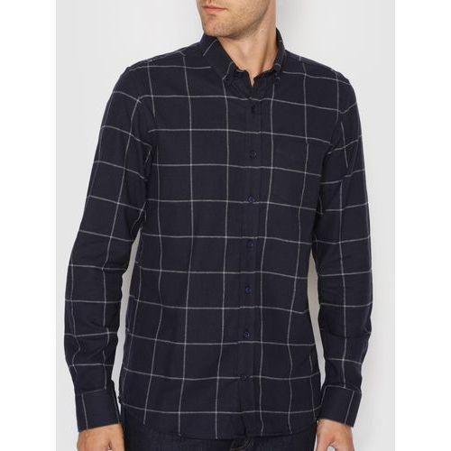 Koszula o prostym kroju z długimi rękawami, 100% bawełna