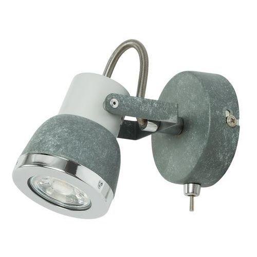 Kinkiet Globo Sabinyo 57000-1 lampa ścienna 1x50W GU10 szary kamień / chrom (9007371364183)