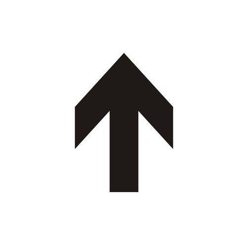 Top design Strzałka pionowa (czarny/biały) - OKAZJE