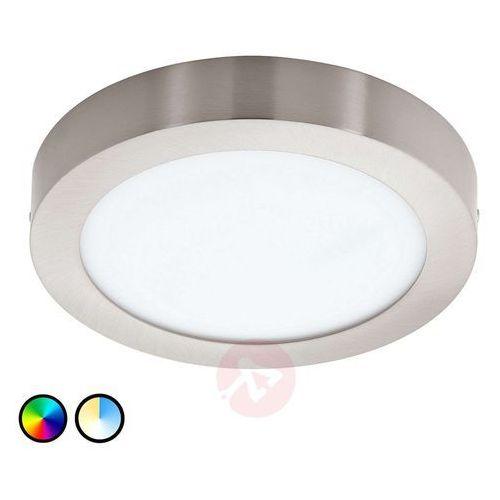 Eglo 96678 - LED Plafon FUEVA-C LED/21W/230V chrom matowy okrągły, 96678