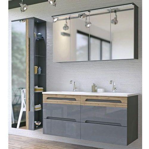 Zestaw mebli łazienkowych GALAXY GREY (801)SET 120 cm