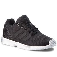 separation shoes 73090 13974 Adidas Buty - zx flux c bb9105 cblack cblack ftwwht