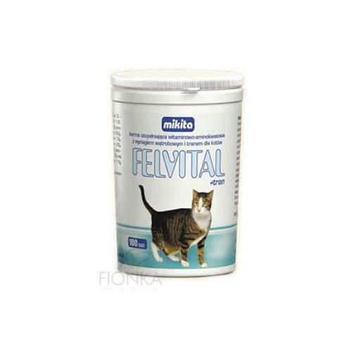 Mikita felvital + tran preparat witaminowy z tranem dla kotów