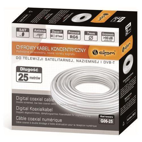 Kabel DPM Solid RG6U Lava (5903876658335)