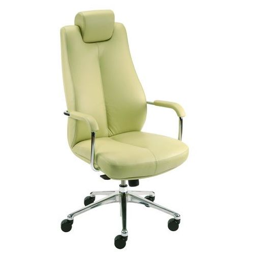 Fotel gabinetowy SONATA LUX HRU steel28 chrome