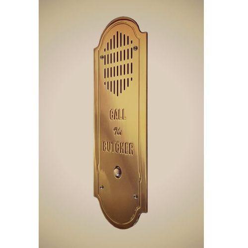 Stylowy domofon retro - mosiądz marki Radbit