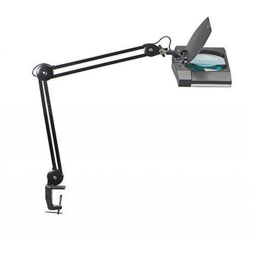 Maul Lampka led z lupą na biurko vitrum, 7w, mocowana zaciskiem, czarna (4002390061766)