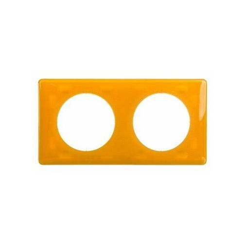 Ramka podwójna celiane 066672 żółta marki Legrand