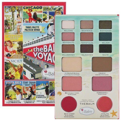 TheBalm BalmVoyage vol.2 - paleta do makijażu 21,1g. Tanie oferty ze sklepów i opinie.