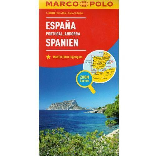 MARCO POLO Karte Länderkarte Spanien, Portugal 1:800 000, książka z kategorii Literatura obcojęzyczna
