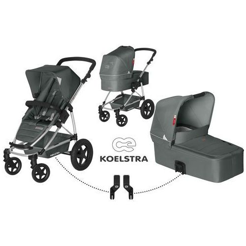 Koelstra wózek dziecięcy składany Binque Daily Grey