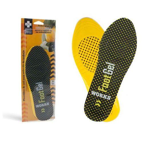 Footgel wkładki do butów roboczych premium - wkładki żelowe