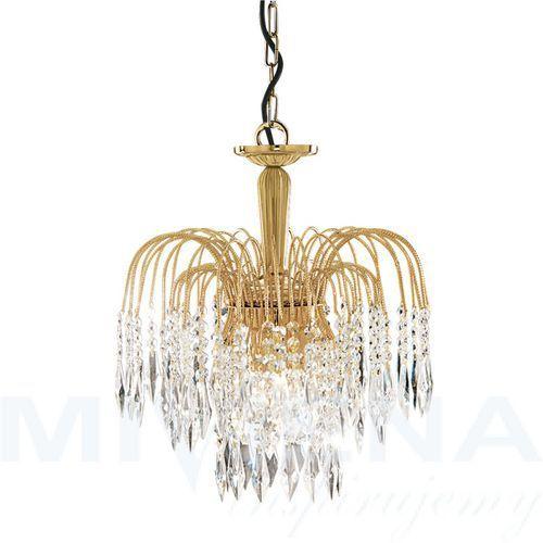 Waterfall lampa wisząca 3 złoty kryształ marki Searchlight