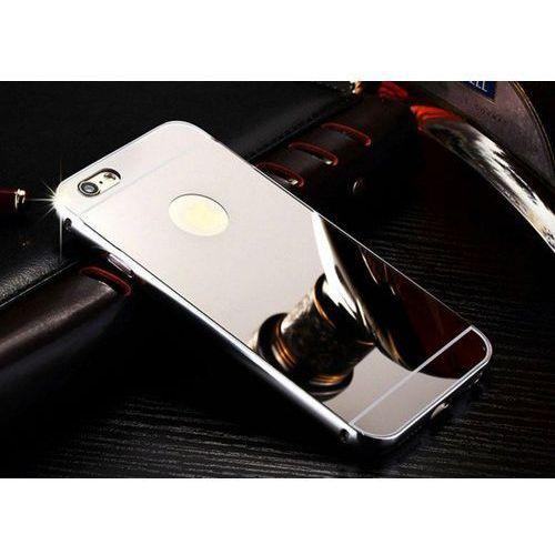 metal case srebrny | etui dla apple iphone 6 / 6s - srebrny, marki Mirror bumper