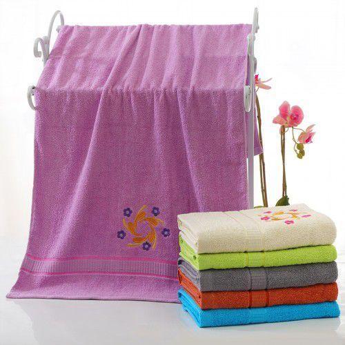 Ręcznik bawełniany - 50x100 - fioletowy marki Cotton world
