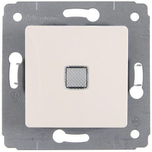 773713 cariva przycisk jednobiegunowy mechanizm z plakietką kremowy ip20 przycisk 1x marki Legrand