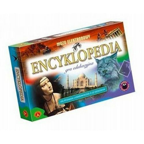 Encyklopedia - mózg elektronowy - gra edukacyjna marki Alexander