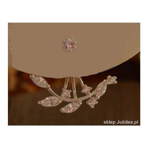 Srebrne kolczyki z kryształkami Swarovski ALASKA