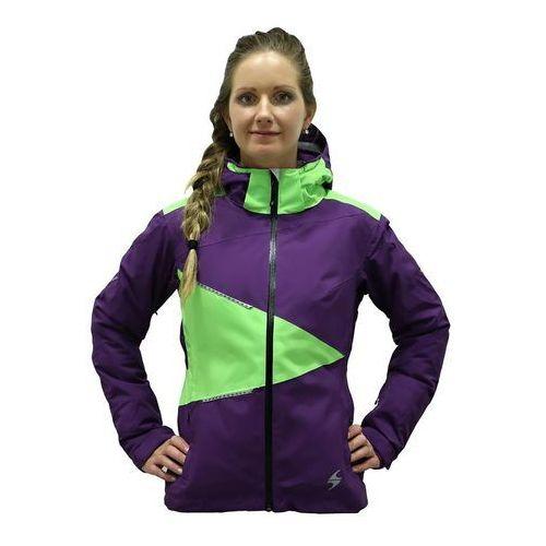 Blizzard  viva performance ski jacket purpurowa l zielony 2015-2016
