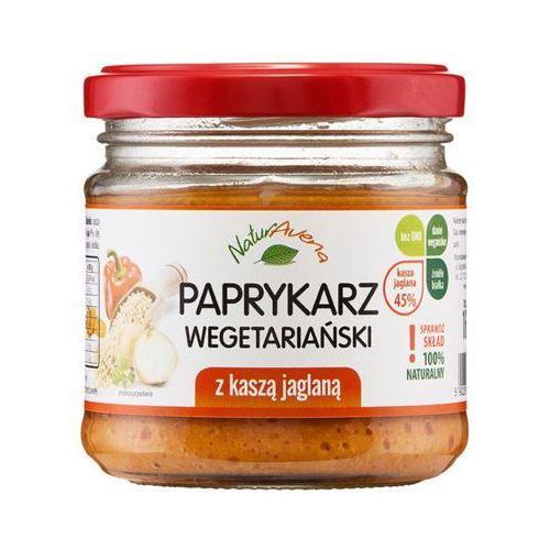 NATURAVENA 160g Paprykarz wegetariański z kaszą jaglaną