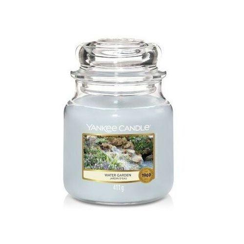 Yankee candle Smakeup.pl świeca zapachowa średni słój water garden 411g (5038581091457)