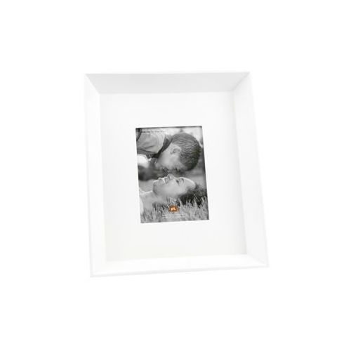 Photo frame Rustic White L